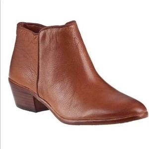 Sam Edelman | Petty Ankle Leather Brown Boots